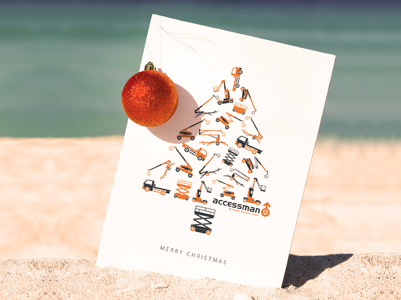 Accessman Christmas Card from Anna By Design