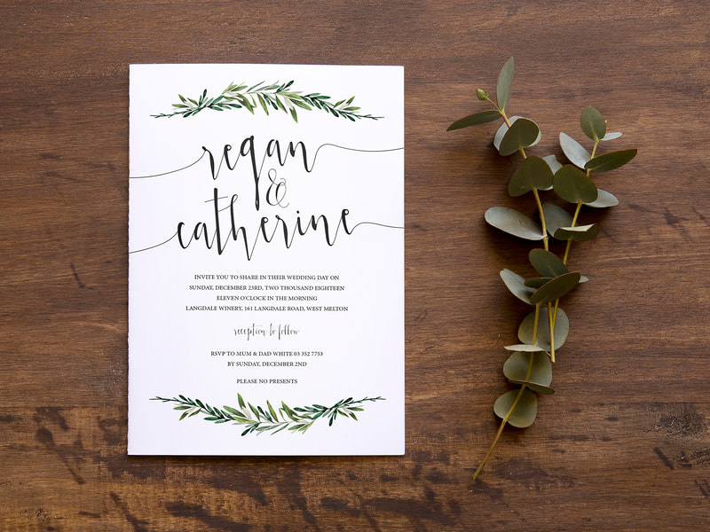 Wedding Invitations from Anna By Design