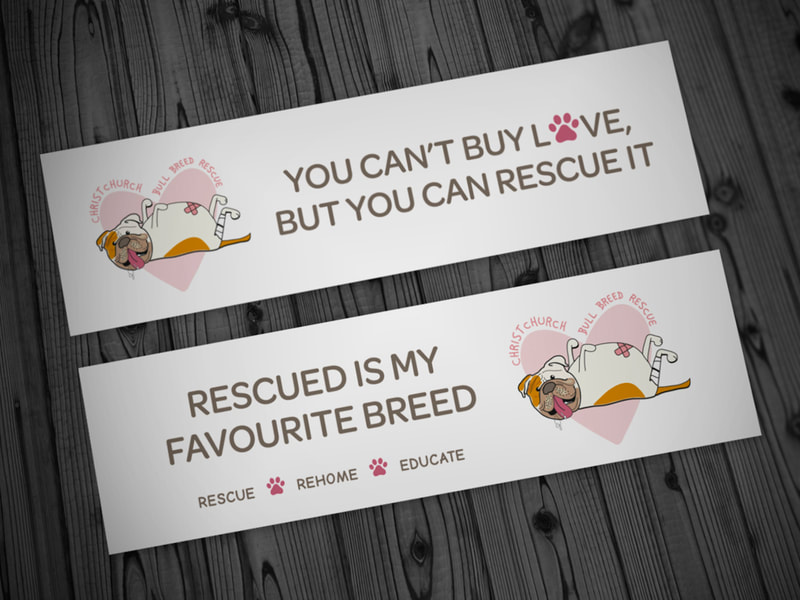 CBBR Bumper Stickers from Anna By Design