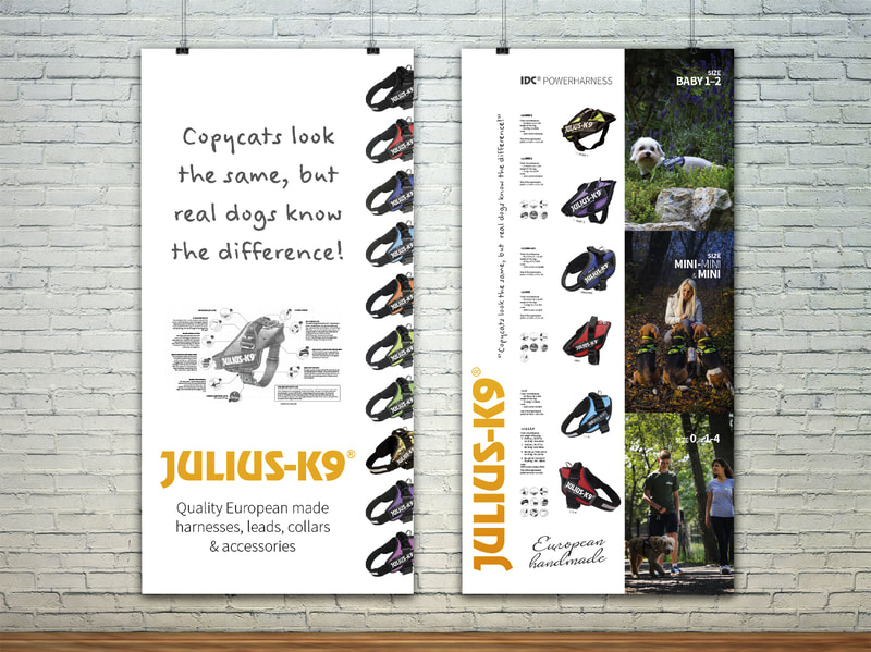 Julius-K9 Display Panels from Anna By Design