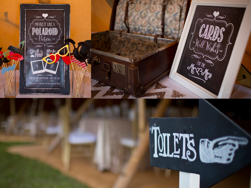 Wedding Signage from Anna By Design